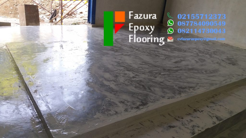 Jasa Instalasi Lantai Epoxy Ruang Pergudangan, Kontraktor Cat Epoxy Lantai Murah Berkualitas